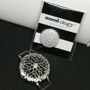 Jewelry - Origami owl  mood-ology silver set